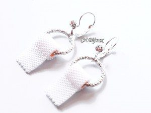 toilet paper earrings orecchini carta igienica